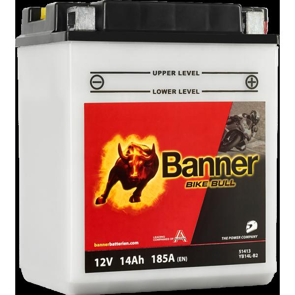 BANNER BIKE BULL YB14L-B2 12V / 14Ah 51413