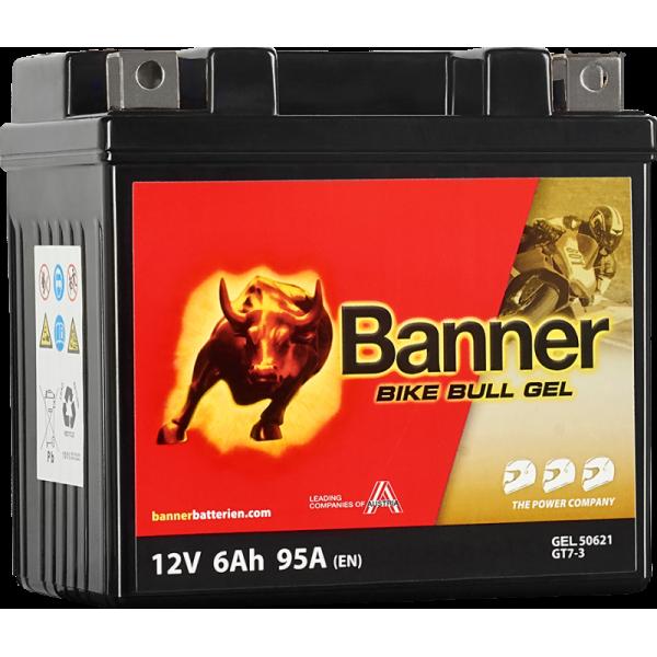 BANNER BIKE BULL GT7-3 YTZ7S 12V / 6Ah