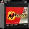 BANNER BIKE BULL YTX16-BS 12V / 14 Ah