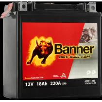 BANNER BIKE BULL YTX20CH-BS 12V / 18 Ah