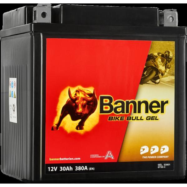 BANNER BIKE BULL GT30-3 12V / 30 Ah 53001