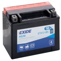 EXIDE YTX12-BS 12V/10Ah 150A