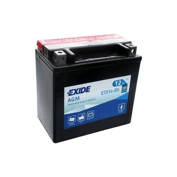EXIDE YTX14-BS 12V/12Ah 200A
