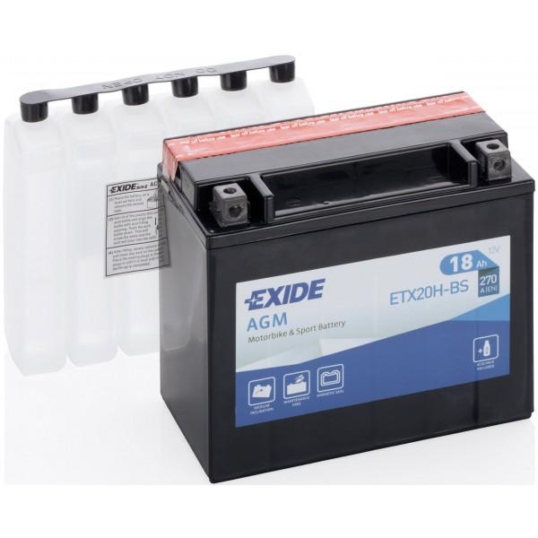 EXIDE YTX20H-BS 12V/18Ah 270A