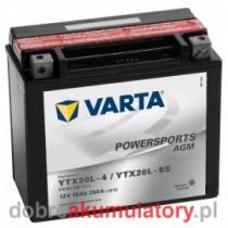 VARTA YTX20L-BS 12V/18Ah