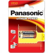 PANASONIC CR123 BLISTER 1szt