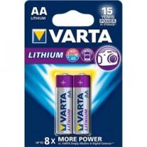 Varta LITHIUM LR06 AA BLISTER 2szt