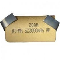Ogniwo ZOOM SC3000 Ni-Mh z blaszkami przyłączeniowymi