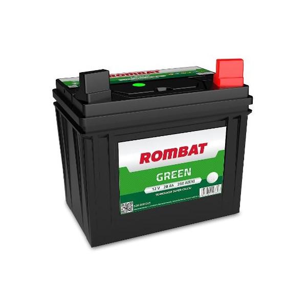 AKUMULATOR ROMBAT GREEN 12V/28Ah P+