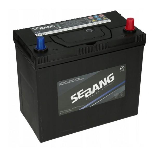 SEBANG EFB START-STOP 12V/55Ah P+