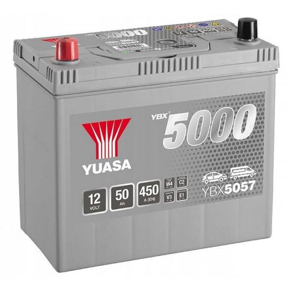 YUASA YBX5057 12V/50Ah L+