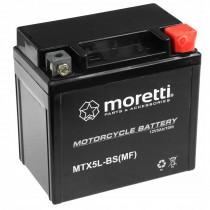 Moretti MTX5L-BS YTX5L-BS 12V/5Ah 70A