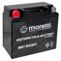 Moretti MB7-BS 12N7-4A 12V/7Ah 70A