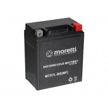 Moretti MTX7L-BS YTX7L-BS 12V/6Ah 105A