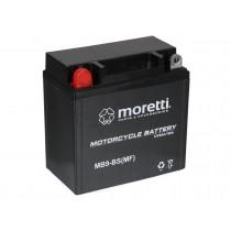 Moretti MB9-BS YB9-B 12V/9Ah 85A