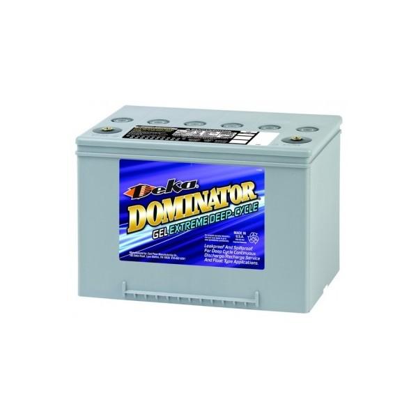 Deka 12V/ 61Ah Dominator 8G34R