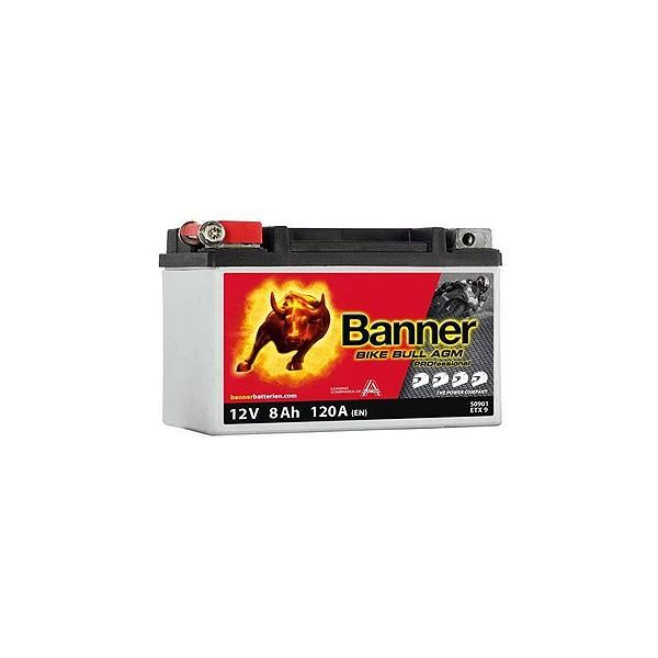 BANNER BIKE BULL PROFESSIONAL ETX9 AGM + SLA YTX9-BS