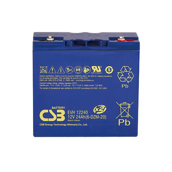CSB EVH 12240 F2 12V / 24Ah