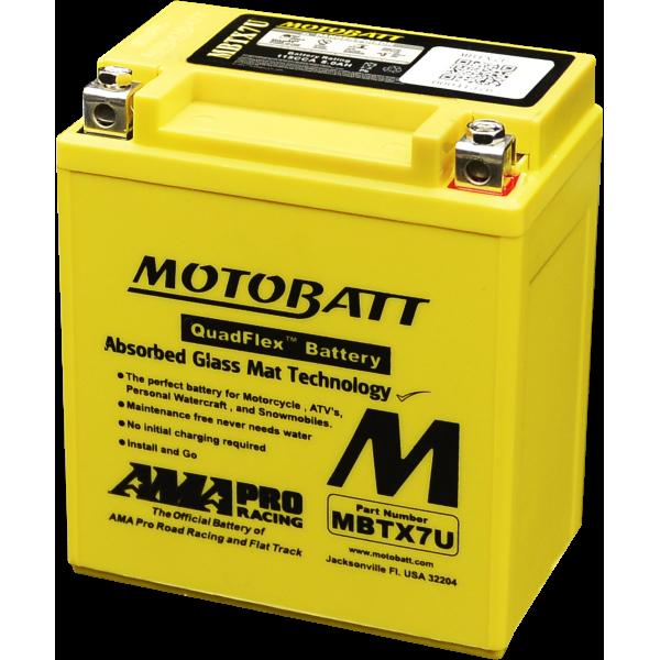 Akumulator AGM MBTX7U MOTOBATT 12V 8Ah