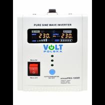 ZESTAW ZASILANIA AWARYJNEGO CZYSTY SINUS 800W + 12V/100Ah UPS CO2