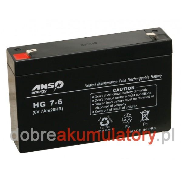 ANS-energy 6V/7Ah