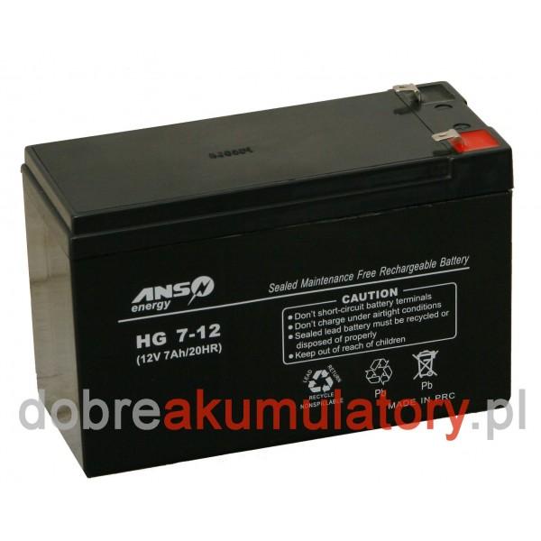 ANS-energy 12V/7Ah