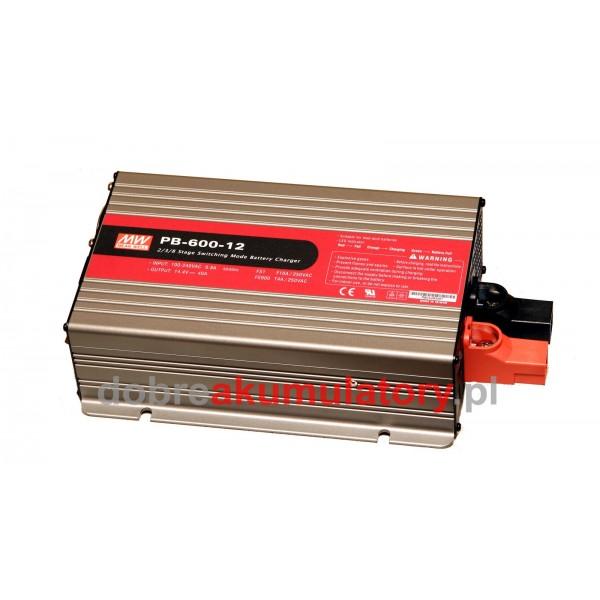 Ładowarka Mean Well PB-600-12 (12V)