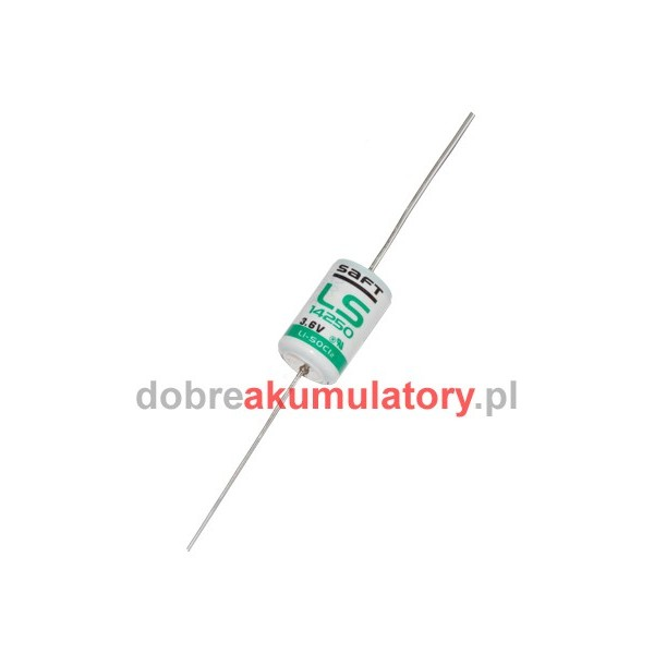 Bateria litowa SAFT LS14250 CNA 3.6V , 1.2Ah