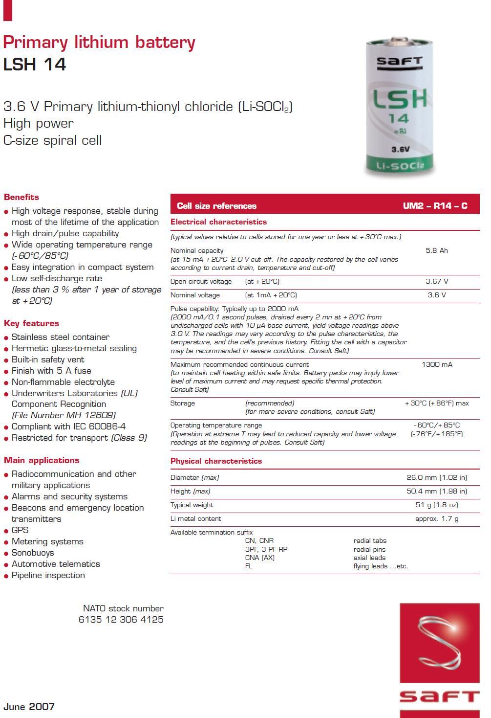 specyfikacja lsh14 str1